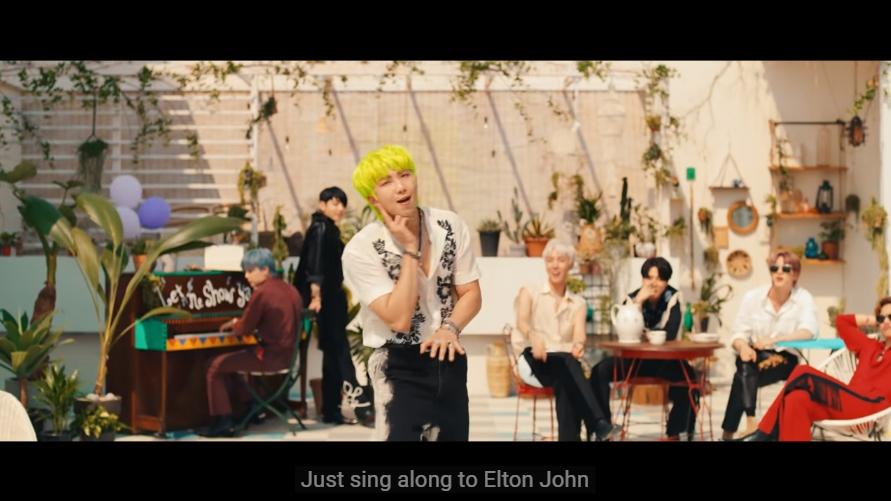 バンタンのPermission to Danceがエルトン・ジョンの名前が出て本人も反応ツイート!!